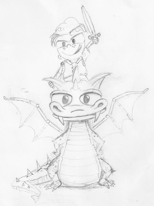 dragon-david-sketch